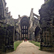 Abbaye de Villers en hiver