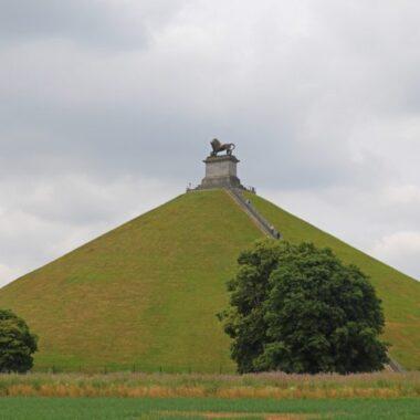 Butte du lion, champ de bataille de Waterloo