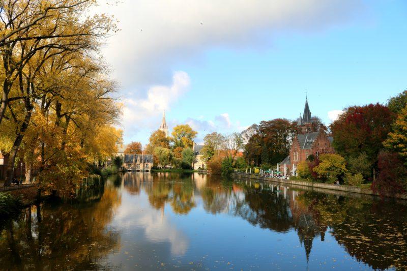 Bruges en automne