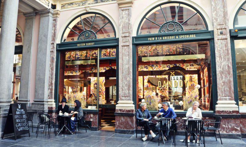 Terrasse Dandoy Galeries royales