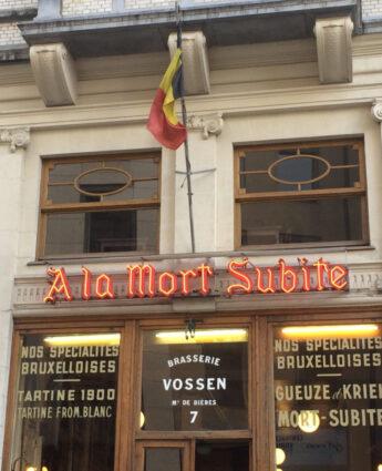 estaminet mort subite Bruxelles