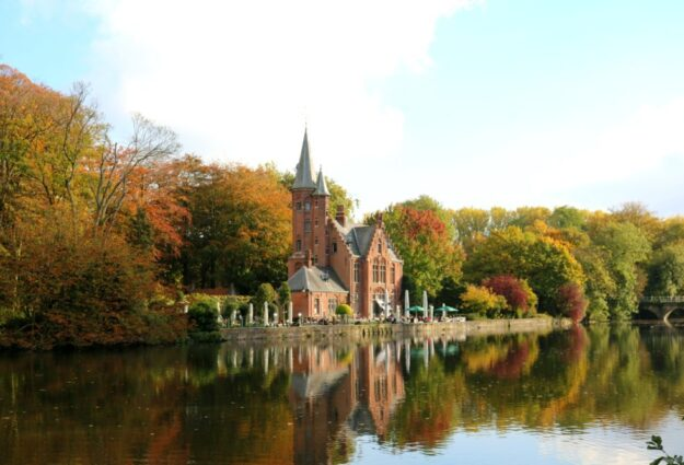 Minnewater à Bruges