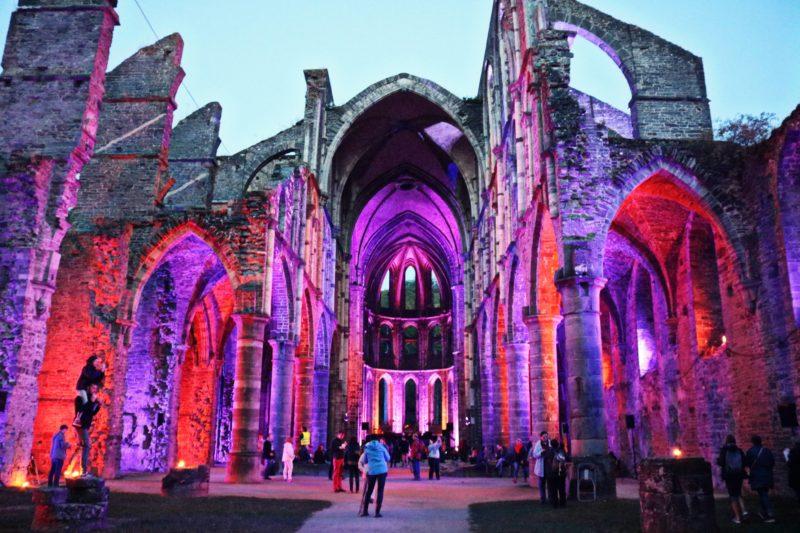 Abbaye de Villers de nuit