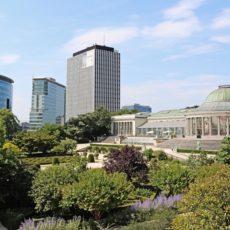 Jardin botanique dans la commune de Bruxelles