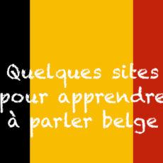 Vidéos pour apprendre à parler belge