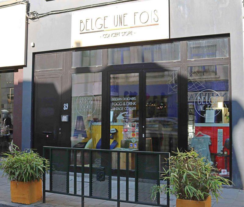 Boutique Belge une fois souvenirs insolites