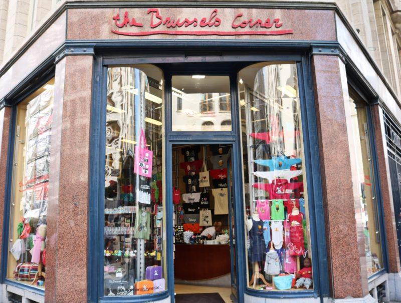 boutique Brussels Corner souvenirs insolites