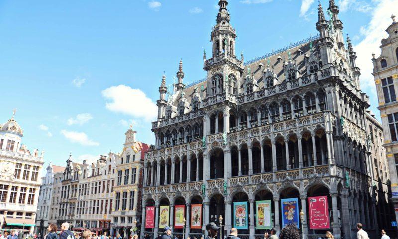 Grand-Place de Bruxelles en été