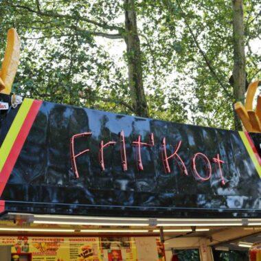 Fritkot à Bruxelles