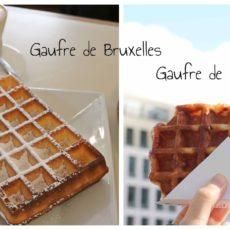 Gaufres de Bruxelles ou de Liège