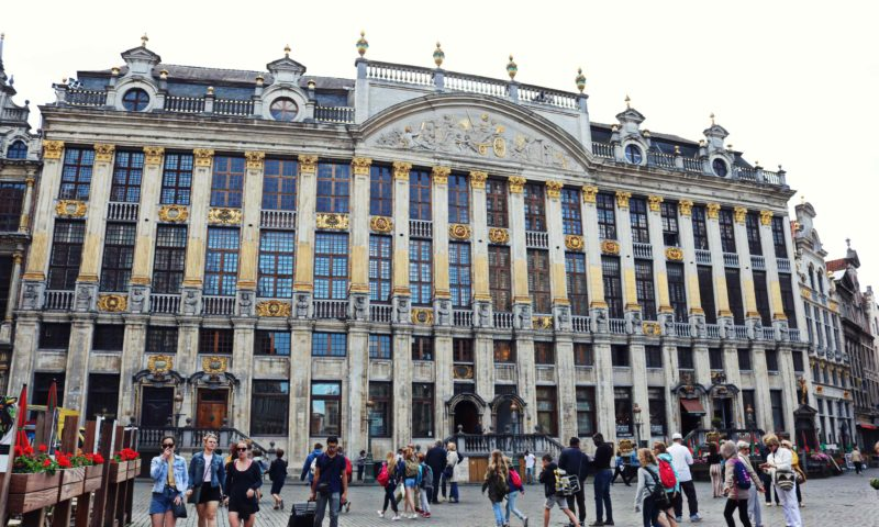 Bourse sur la Grand-Place de Bruxelles