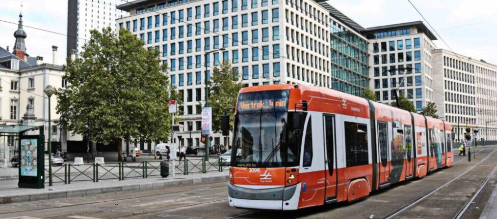 tram Bruxelles transport en commun