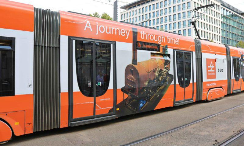 Tramway Bruxelles accessible personnes à mobilité réduite