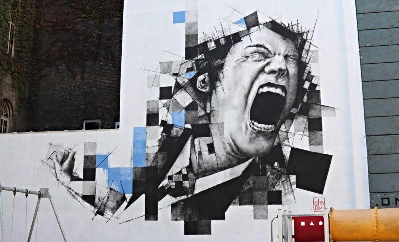 FSTN Street Art à Bruxelles