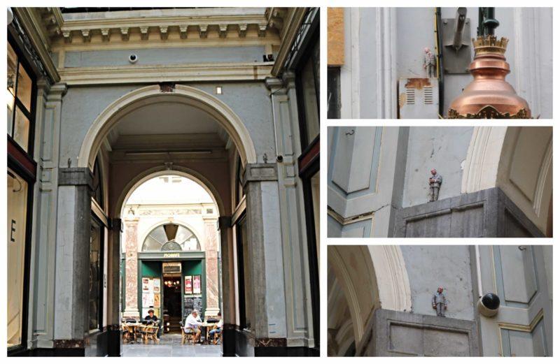 Isaac Cordal à Bruxelles
