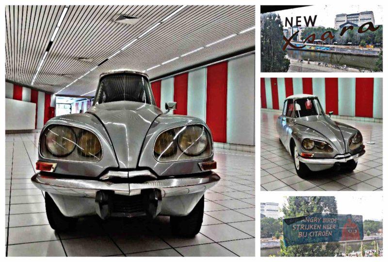 Citroën DS monoplace Gabriel Orozco Kanal Pompidou Bruxelles