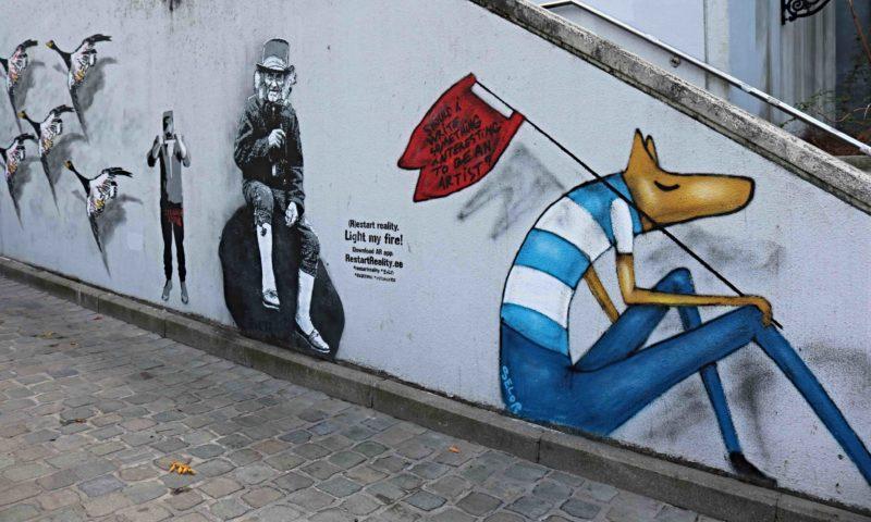 Parcours Street Art Place d'Espagne Bruxelles
