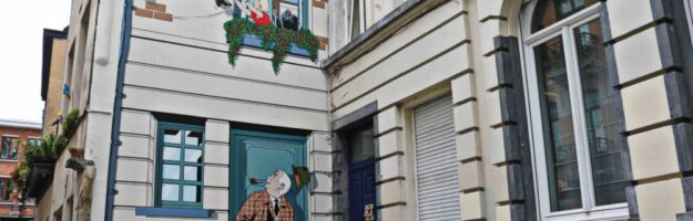 Parcours BD et Street Art Bruxelles