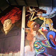 Stroker Inside street art Bruxelles