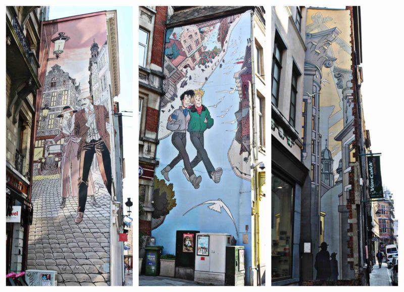 Parcours BD et street art à Bruxelles