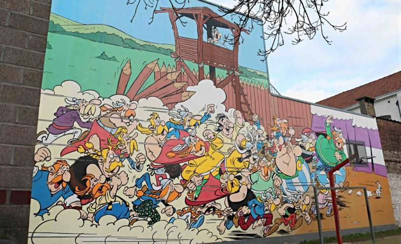 Parcours BD Bruxelles Sainte Catherine