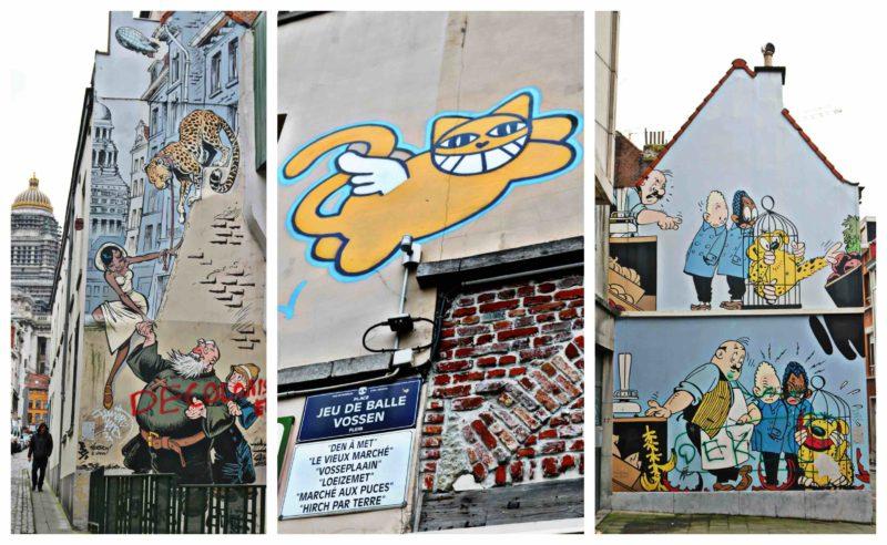 BD et Street Art dans les Marolles