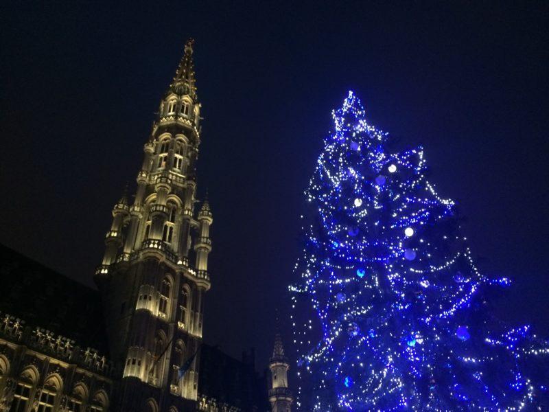 Grand Place Marché de Noël Bruxelles