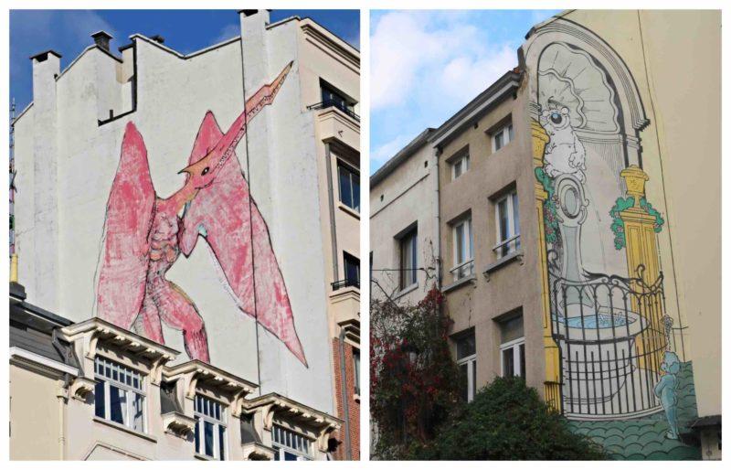 Parcours BD Sainte Catherine Bruxelles