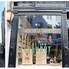 Dandoy rue au beurre Bruxelles speculoos