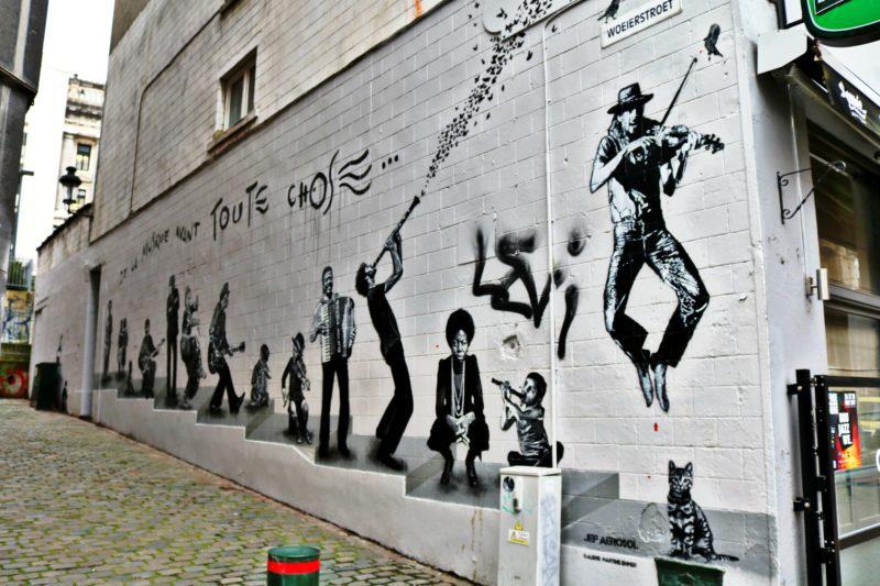 Street Art dans les Marolles