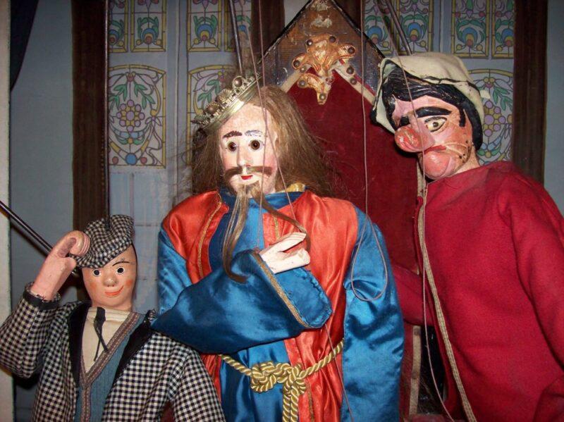 marionnette noël spectacles