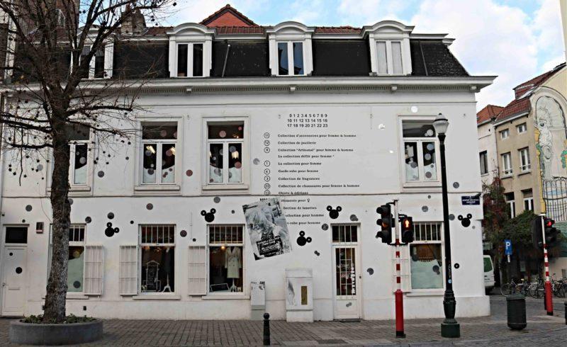 Street Art Bruxelles Oak Oak