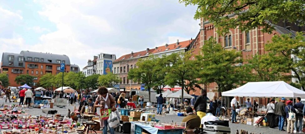 Place du Jeu de Balle Bruxelles