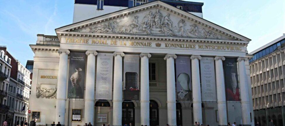 Opéra de la Monnaie à Bruxelles