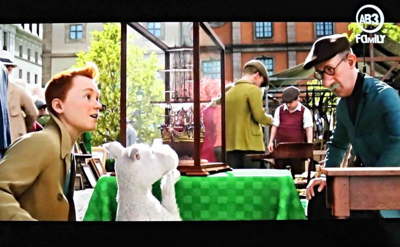 Tintin place du jeu de Balle Bruxelles