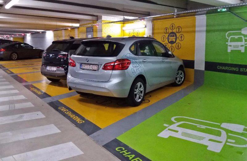 Voiture partagée auto partage à Bruxelles