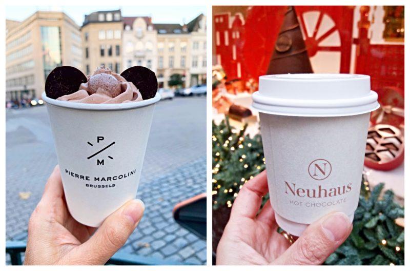 Meilleurs chocolats chauds Bruxelles