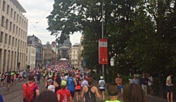 20 km course à pied Bruxelles