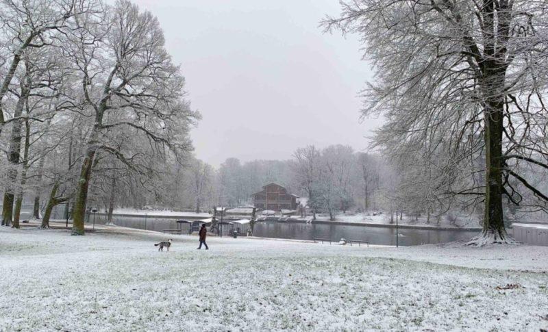 Bruxelles en hiver