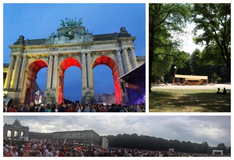 Parc du Cinquantenaire Bruxelles