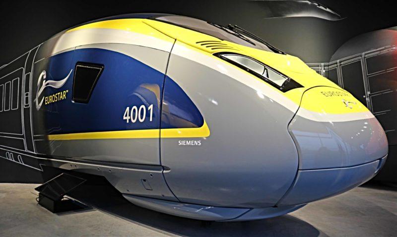 Eurostar Bruxelles musée du train