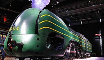 Musée du train locomotive type 12