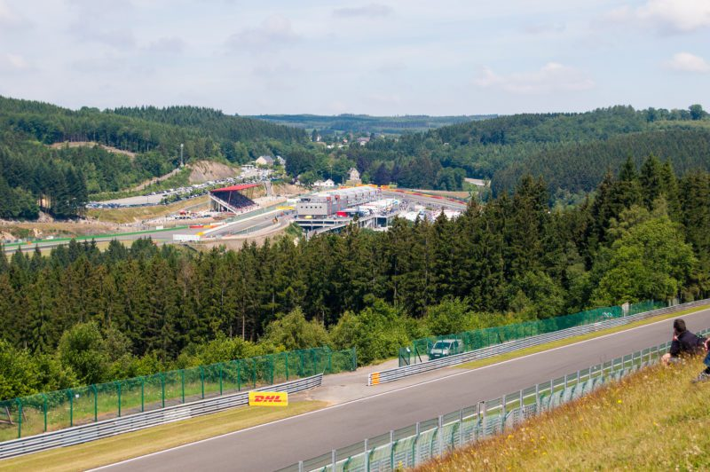 circuit automobile Spa Formule 1