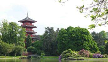 Tour japonaise serres royales laeken