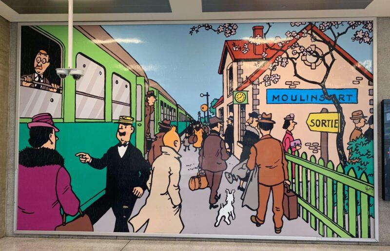 Tintin à Bruxelles