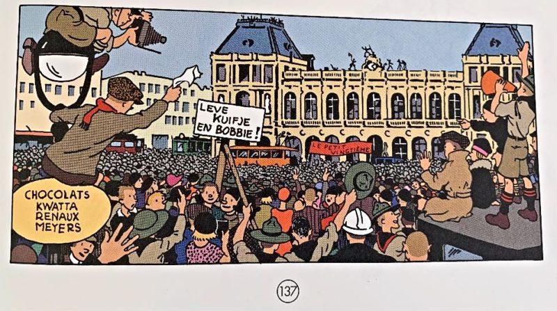 Tintin a Bruxelles