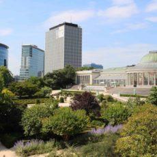 Jardin Botanique Bruxelles en été