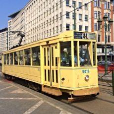 150 ans du tram à Bruxelles