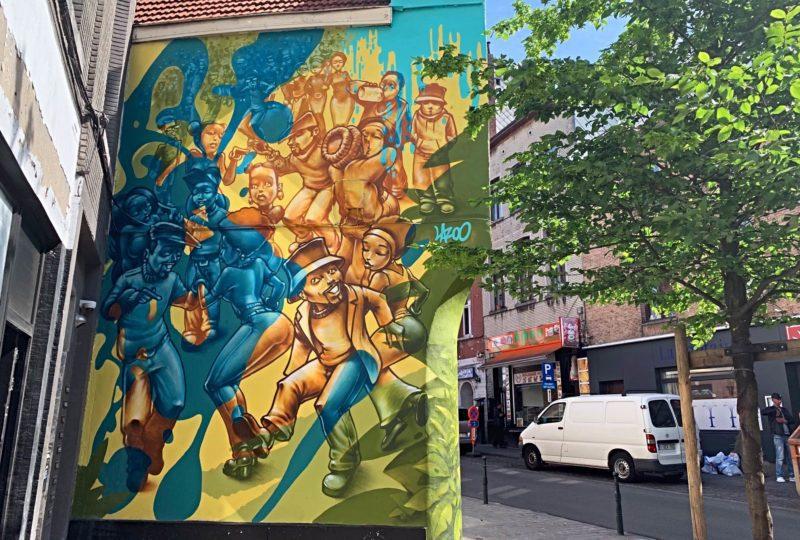Bruegel Street Art Farmprod Bruxelles