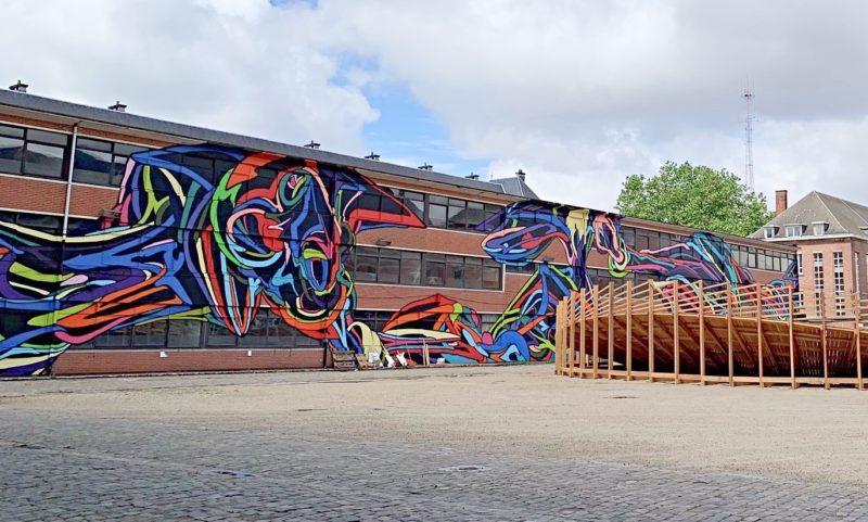 Vélodrome Street Art Bruxelles